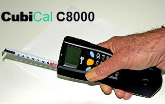 CubiCal C8000 Mobile Dimensional Weight Measurement Device